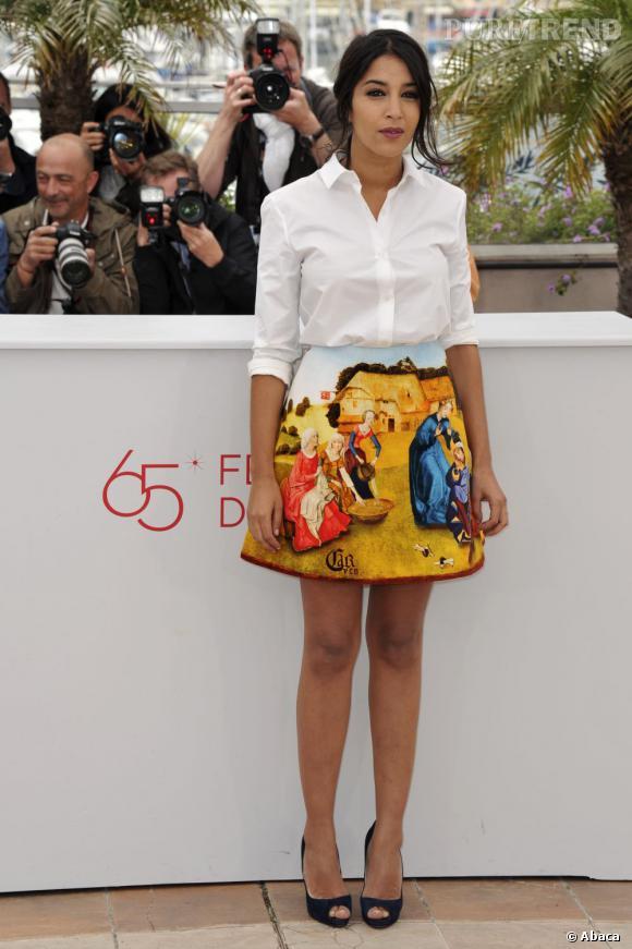 Leïla Bekhti sera au Festival de Cannes 2013 en tant qu