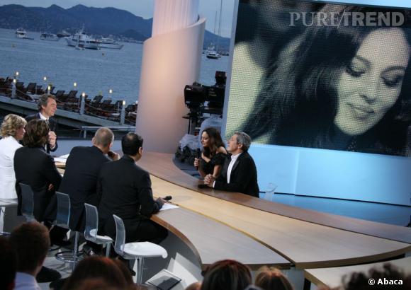 Monica Bellucci atout charme de l'émission aux côtés d'Alain Chabat en 2008.