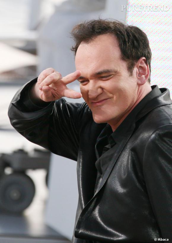 Quentin Tarantino se la joue Pulp Fiction en 2008.