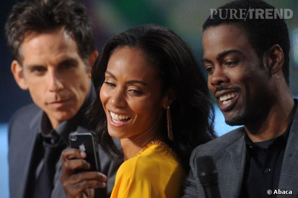 Ben Stiller, Jada Pinkett Smith et Chris Rock jouent les paparazzis.