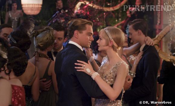 Gatsby et Daisy Buchanan joués par Leonardo DiCaprio et Carey Mulligan.