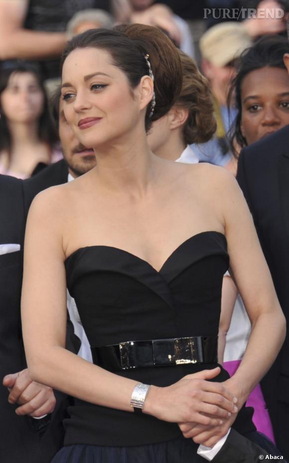 Les plus beaux décolletés de Cannes : Marion Cotillard, version bustier.
