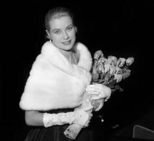 Grace Kelly au Festival de Cannes de 1955.