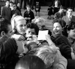 Grace Kelly au Festival de Cannes de 1953.