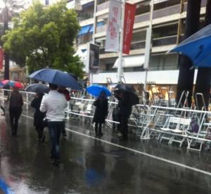 Cannes 2013 : la pluie, cette tueuse d'ambiance !