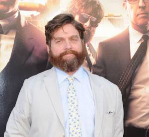 Very Bad Trip 3 : Zach Galifianakis arrive a la premiere avec une SDF