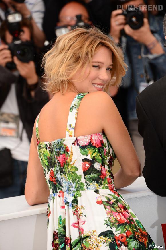 """Léa Seydoux pour """"La vie d'Adèle"""" à Cannes 2013 : l'actrice fait partie des françaises les plus influentes selon Slate."""