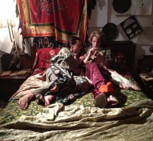Photo du tournage d'Opium