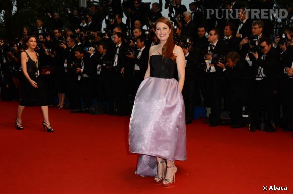 Julianne Moore en Christian Dior, un look presque parfait.