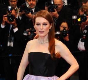 Julianne Moore a Cannes 2013 : un gros probleme de chaussures !