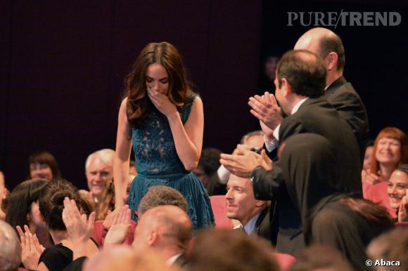 """Bérénice Bejo, prix de l'interprétation féminine pour """"Le Passé""""."""