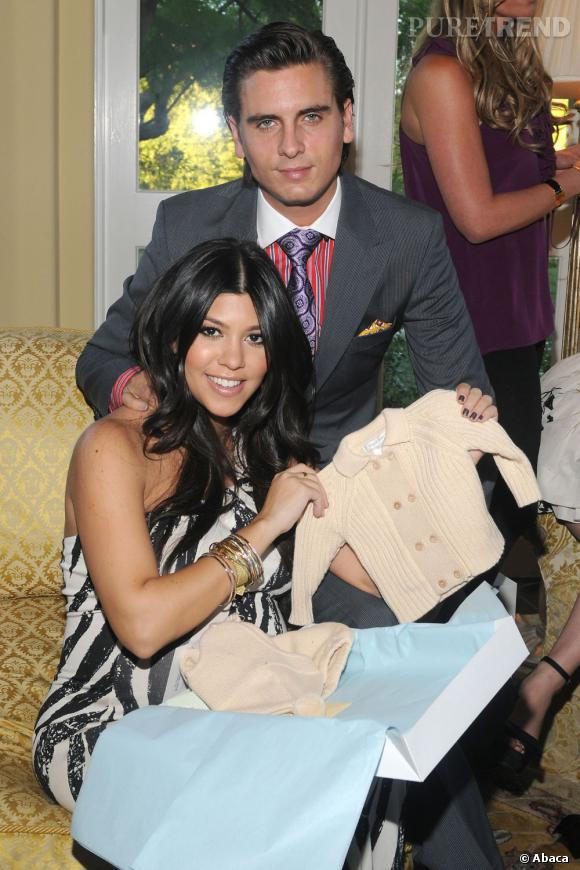 Scott Disick à la baby shower de Kourtney Kardashian.