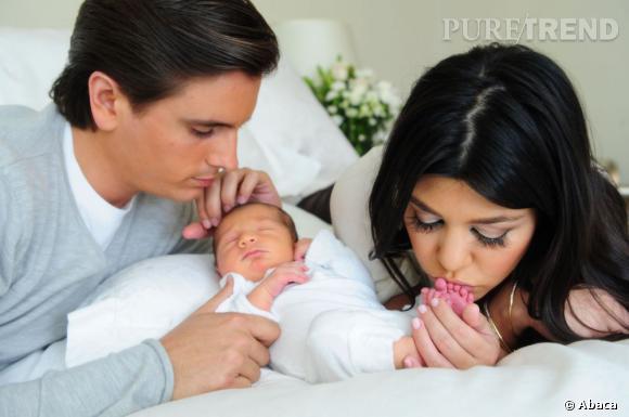 Scott Disick et Kourtney Kardashian accueillent le petit Mason.