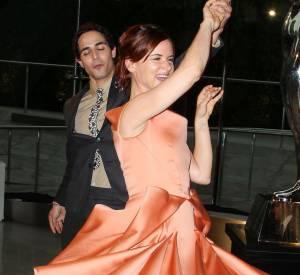 Juliette Lewis et Zac Posen aux CFDA Awards 2013.