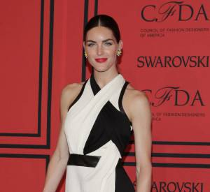 Hilary Rhoda aux CFDA Awards 2013.