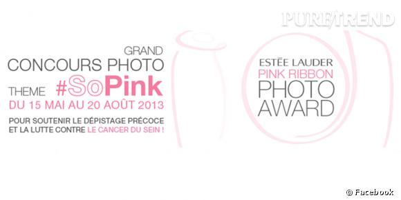 Concours Estée Lauder Pink Ribbon Photo Award 2013.