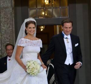 Princesse Madeleine de Suede : divine apparition en Valentino pour son mariage