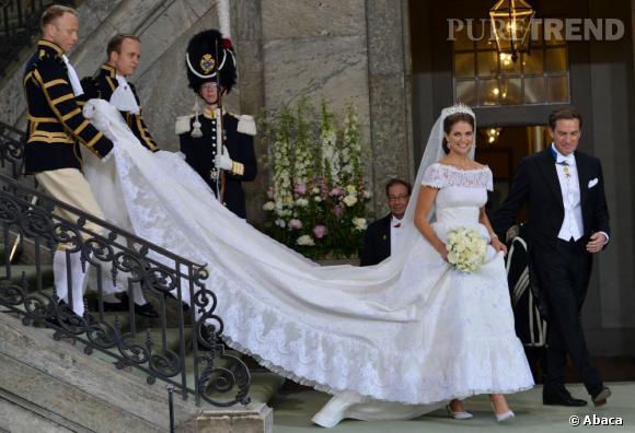 La Princesse Madeleine de Suède s'est mariée le 8 juin avec le financier Chris O'Neill à Stockholm.