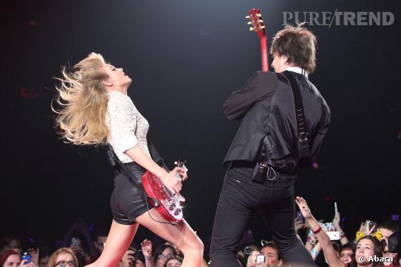 Taylor Swift est actuellement en pleine tournée mondiale.