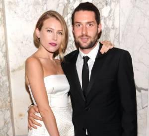 Dree Hemingway et Phil Winser à la soirée de l'amfAR du 13 juin dernier au Plaza Hotel de New York.