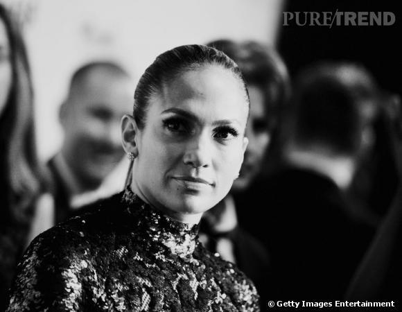 Jennifer Lopez à la soirée de l'amfAR du 13 juin dernier au Plaza Hotel de New York.