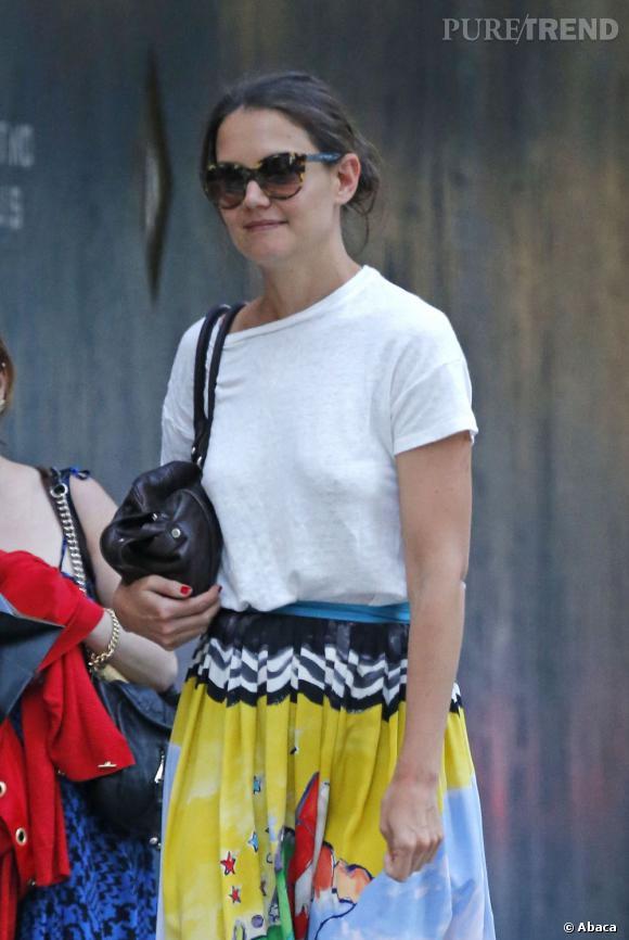 Katie Holmes à New York, un nouveau style pour une nouvelle vie !