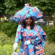 """""""I love England"""" semblait certainement vouloir dire cette invitée au Royal Ascot 2013."""