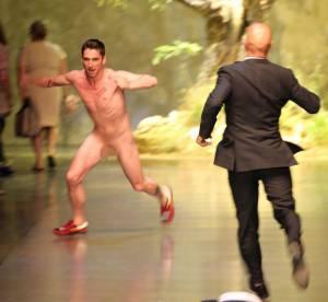 L'identité de l'homme nu du défile Dolce & Gabbana presque révélée