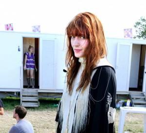 Florence Welch, allure folk à Glastonbury.