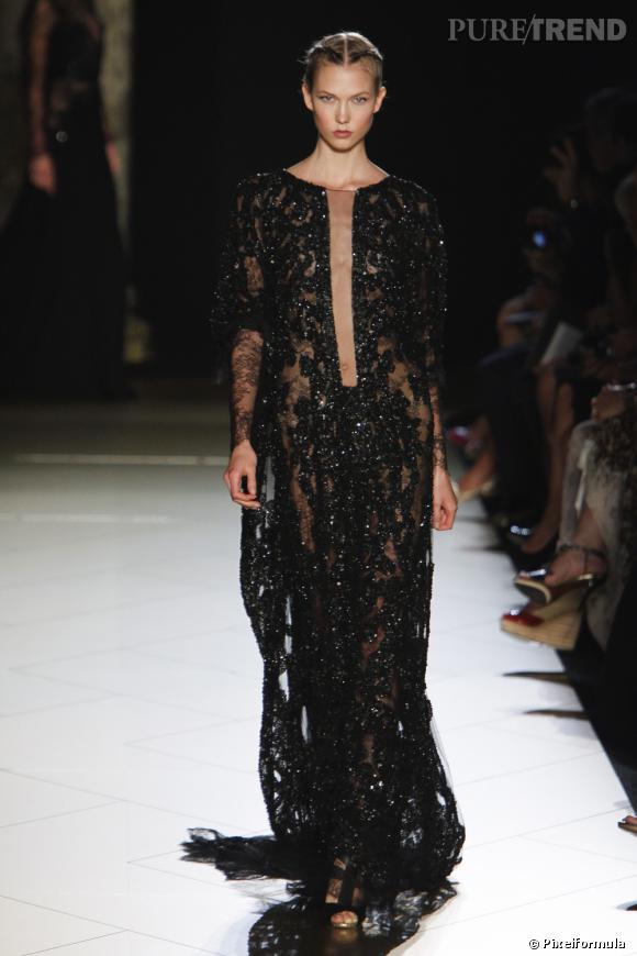 Défilé Haute Couture Elie Saab Automne-Hiver 2012/2013.
