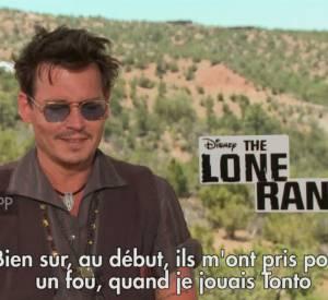 Johnny Depp revient sur sa carrière.