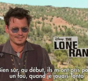 Johnny Depp, retour sur sa carriere pendant la promo de The Lone Ranger