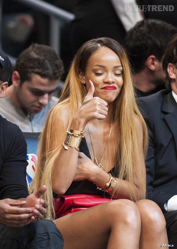 Rihanna assume son comportement prétendant qu'elle n'a jamais revendiqué être un modèle.