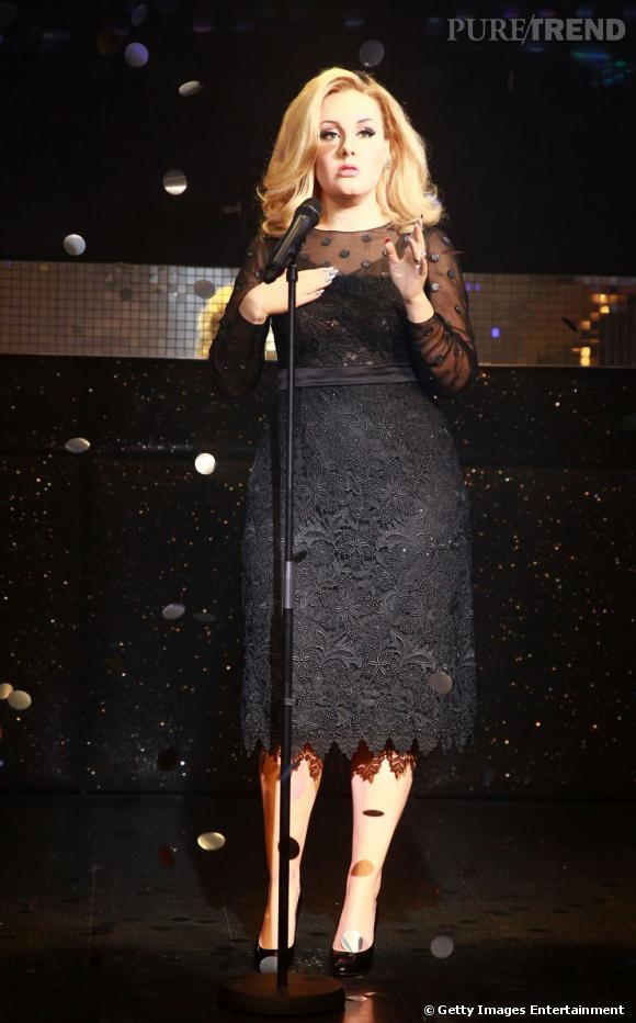 Adele au musée Madame Tussauds, une silhouette bien amincie.