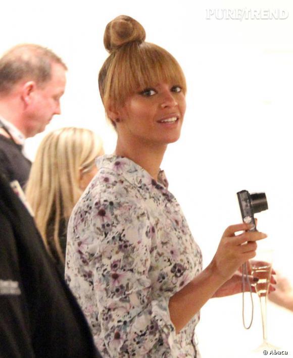 Le bun, une coiffure qui pourrait éviter bien des mésaventures à Beyoncé.