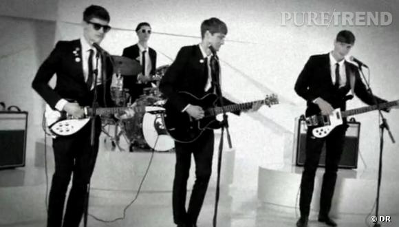 Rimmel ressuscite les Beatles pour sa campagne Retro Glam.