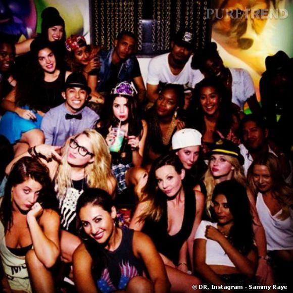 Selena Gomez, vraie party girl.