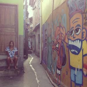 C'est à Rio de Janeiro qu'Alexandra Rosenfeld a dû laisser Jean Imbert, mais elle a tout de même pu profiter de beaux paysages.