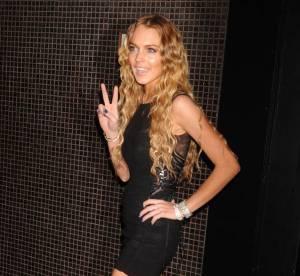 Lindsay Lohan, Kirsten Dunst, Heidi Klum : oh les vilaines traces de bronzage !