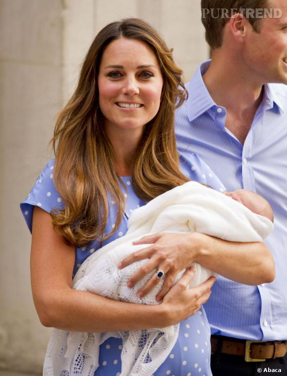 Kate Middleton et le prince George.