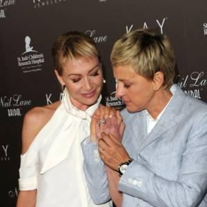 Ellen Degeneres et sa compagne, un duo de charme sur tapis rouge.