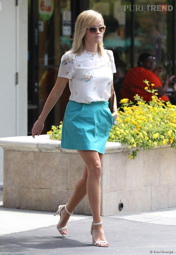 Reese Witherspoon, une maman chic, sexy et estivale.