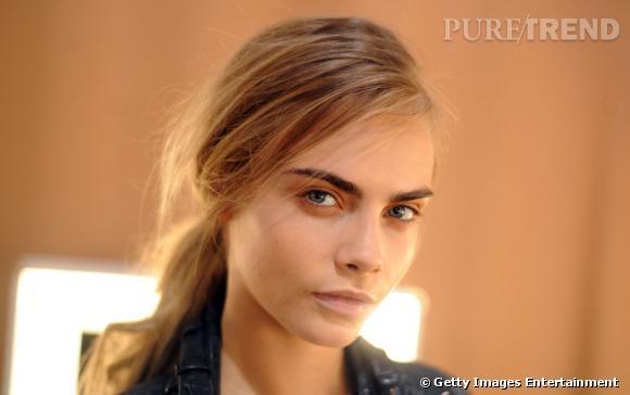 Cara Delevingne, une mannequin qui veut se faire un nom dans le cinéma.