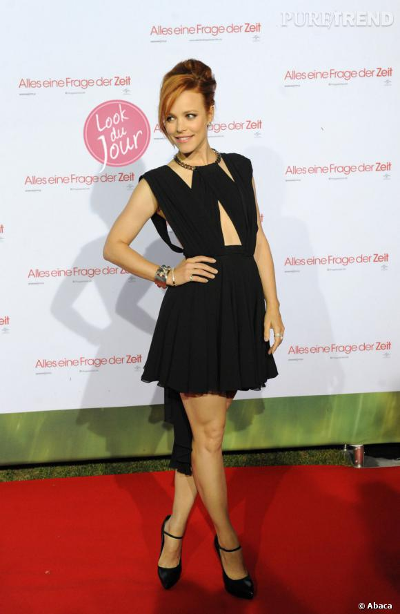 """Rachel McAdams à la première de """"About Time"""" en Allemagne."""