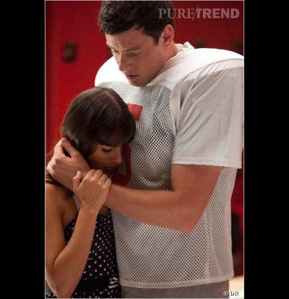 """Cory Monteith et Lea Michele, ensemble dans """"Glee"""" et dans la vraie vie."""