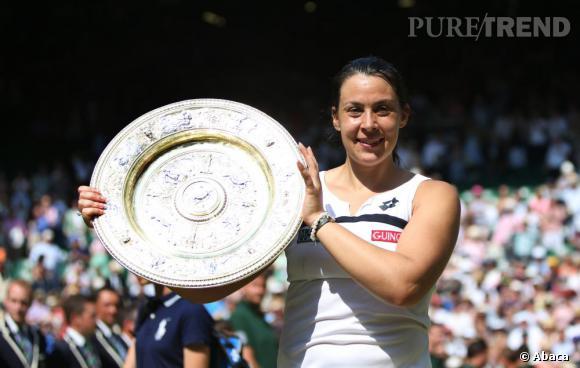 Marion Bartoli a remporté le tournoi de Wimbledon le 6 juillet dernier.