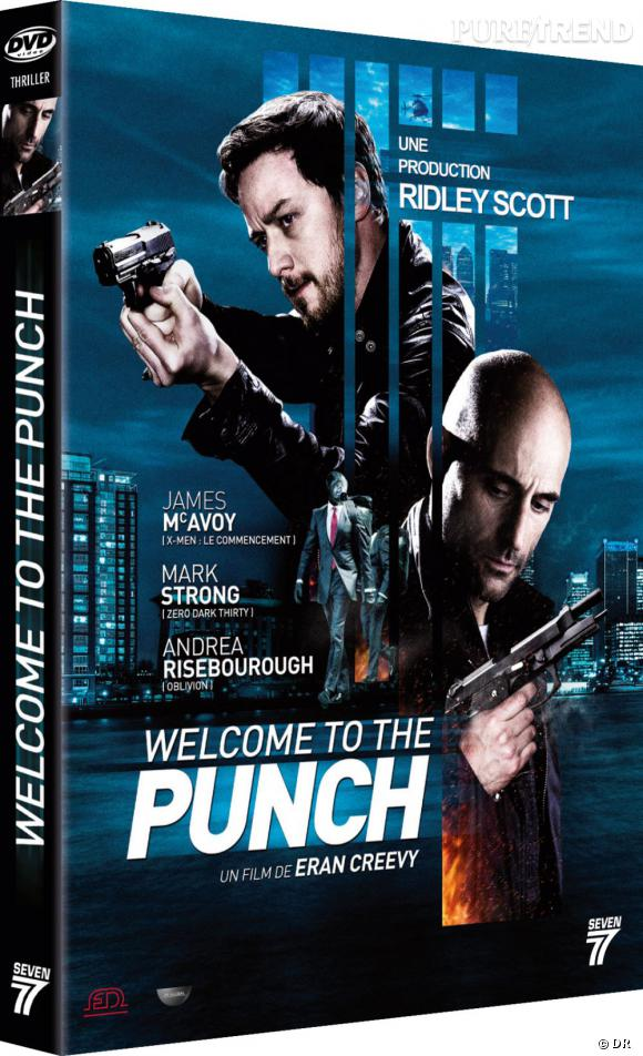 """Le DVD :  """"Welcome to the punch"""".    Pourquoi lui ?  Pour James McAvoy qui se fait discret côté grand écran en ce moment. Mais aussi pour ce film policier très thriller qui nous tient en haleine du début à la fin.    Le prix :  19.99€"""