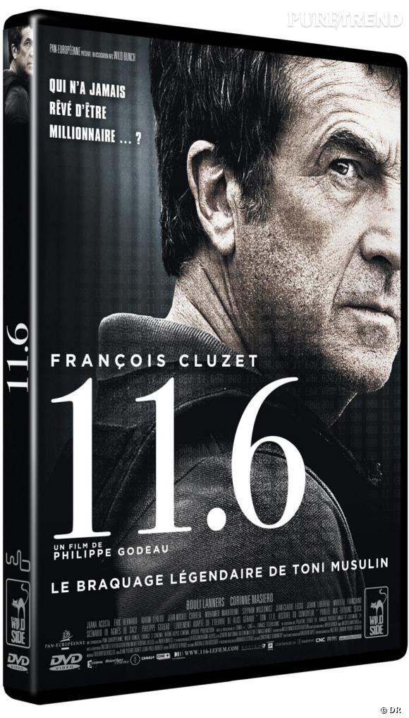 """Le DVD :  """"11.6"""".    Pourquoi lui ?  Un excellent thriller avec François Cluzet qui a le don de nous époustoufler. On est convaincu à 100% par ce film inspiré de faits réels.    Le prix :  16.99€"""