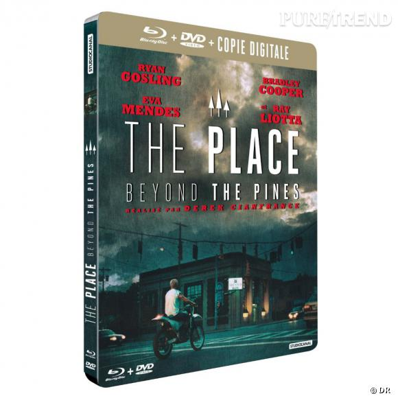 """Le DVD : """" The place beyond the pines"""".    Pourquoi lui ?  Un excellent film, bouleversant avec Ryan Gosling, Bradley Cooper et Eva Mendes. A avoir dans sa collection de DVD sans hésitation.    Le prix :  24.99€ le Blu ray."""