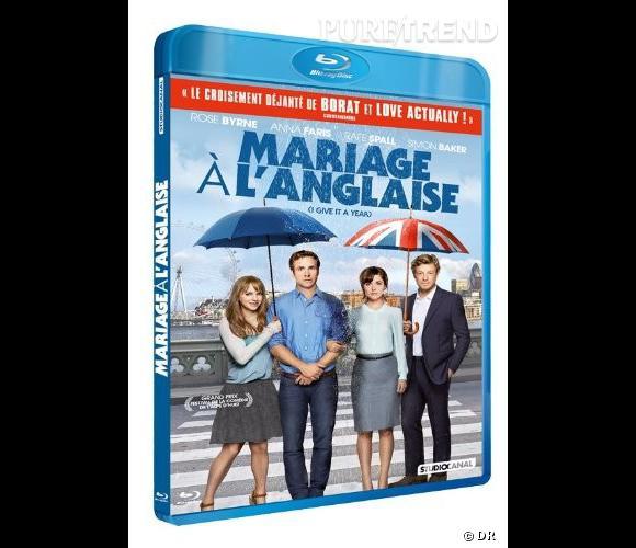 """Le DVD :  """"Mariage à l'anglaise"""".    Pourquoi lui ?  Pour les crises de fou-rire, l'humour qui va parfois trop loin et (surtout) pour Simon Baker.    Le prix  : 14.99€ ou 19.99€ le Blu-Ray."""